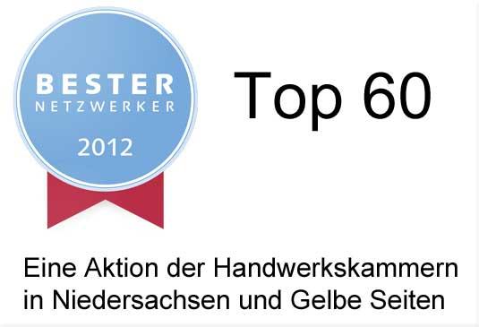 Bester Netzwerker 2012, Top 60