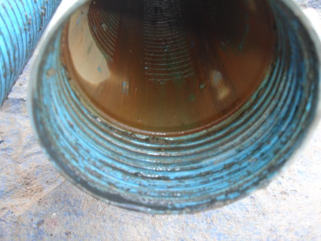 Ausbaumaterial ohne Filterwirkung