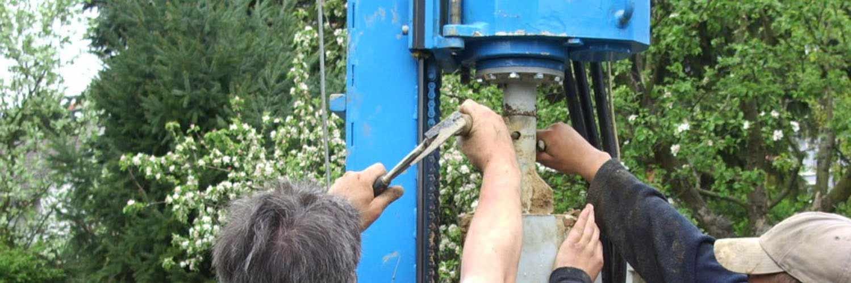 Installation von Hauswasserwerk und Drucksteuerung